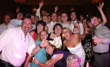 Funk Conspiracy playing a North East wedding in 2010